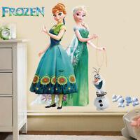 Frozen Elsa Anna Wall Decals Girls Wall Art Stickers Nursery Vinyl Decal Decor