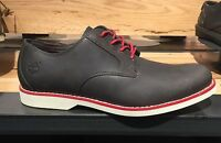 Timberland Men's Stormbuck Olive Brown With Red Sole Leather Oxford Shoes A11IL