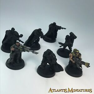 Converted Tanith Cadian Infantry Squad Imperial Guard - Warhammer 40K C1627