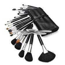 24 Pcs Makeup Brushes Eyebrow Tool Set Eyeshadow Brush Cosmetic Black