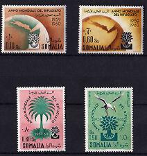 ITALIA Somalia AFIS 4 Stamps Anno mondiale rifugiato World Refugee Year MNH**
