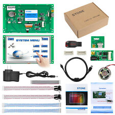 """7"""" HMI Display Monitor TFT LCD With 4-Wire Resistive Touch Screen for Industrial"""