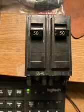 General Electric Ge Circuit Breaker Thql250 50A 50 A Amp 2 Pole 2P 120/240V