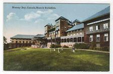 Manoir Richelieu Murray Bay La Mabaie Quebec Canada 1910c postcard