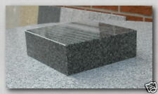 Granitsockel, Grabsockel, Lampensockel, Granit, China Impala, 20x20x8cm, NEU!