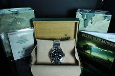 Rolex Submariner Date 16610, scatola e documenti, modello 1992