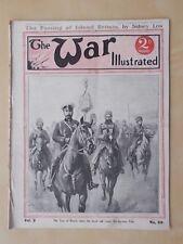 VINTAGE WW1 MAGAZINE THE WAR ILLUSTRATED 1914-18 No 58 THE 7th BUFFS REGIMENT