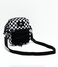 Vans Bail Black & White Checkered Shoulder Crossbody Waistpack Hip Sling Bag