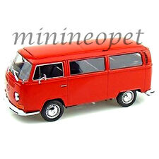 WELLY 22472 1972 72 VW VOLKSWAGEN BUS T2 1/24 DIECAST MODEL CAR RED