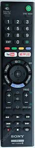 Genuine Sony RMT-TX300E RMTTX300E YouTube Netflix Remote KD-55X7000E KD-65X7000E