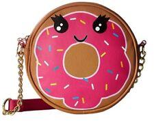 BETSEY JOHNSON Kitsch Doughnut NWT Donut Crossbody Bag Canteen AUTHENTIC