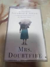 Mrs. Doubtfire Soundtrack cassette tape super rare Mrs