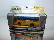 EDOCAR 048 CITYBUS PTT POSTAUTO - YELLOW 1:100? - VERY GOOD CONDITION IN BOX