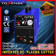 50A DC INVERTER  AIR PLASMA CUTTER Pilot Arc & WSD60 torch Cnc Compatible & VAT