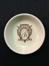 Vintage Park Avenue New York City REGENCY HOTEL ASHTRAY Dish Hall China Co.