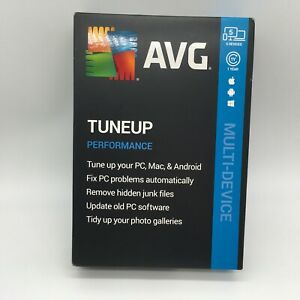 AVG TuneUp Performance Multi-Devices, 5 Devices, 1 Year New Retail Box
