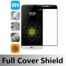 FOR LG G5 BLACK FULL COVERAGE GORILLA TEMPERED GLASS SCREEN PROTECTOR