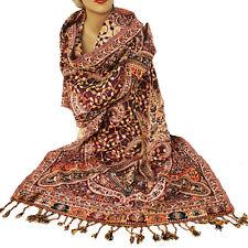 bufanda pañuelo mujer Classic Estilo Cálido Larga Oriente jamawar 200x70cm