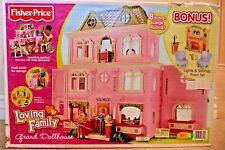 Fisher Price Loving Family Dollhouse w/Bonus Family Room v7291 tru excl *New*