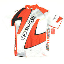 Sugoi Bike Cycling Evolution Relaxed Custom Jersey Small White/Red/Black
