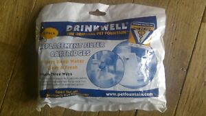 PETSAFE DRINKWELL Premium Replacement Carbon Filters 2  3 Pack PAC00-1307