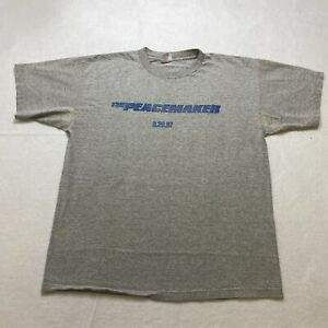Vintage 1997 The Peacemaker Movie Promo T-Shirt Size XL George Clooney Mens