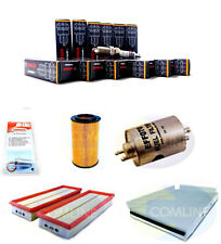 16x CANDELA BOSCH v8 doppio accensione MERCEDES + 4x + FILTRO scarico olio magnetico
