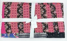 Pottery Barn ~ Pauline Boyd Patchwork Apple Blossom Quilt ~ 57� X 72� ~