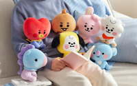 BTS BT21 Official Baby Character Sitting Plush Doll 20 cm KPOP MD Authentic Item