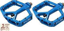 "RACE FACE ATLAS BLUE 9/16"" 3-PIECE BICYCLE CRANK PEDALS"