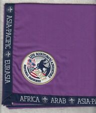 T9200 OA BSA Scouts 2017 NATIONAL JAMBOREE INTERNATIONAL PARTICIPANT NECKERCHIEF