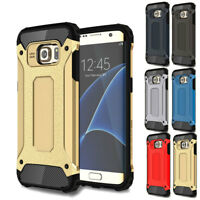 For Samsung Galaxy S6 Edge Plus Shockproof Hybrid Rubber Rugged Slim Case Cover