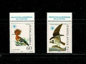 U0685 YUGOSLAVIA 1985 - Nature protection - Birds  MNH