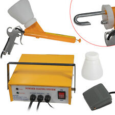 New Listingprofessional Powder Coating System Paint Gun Coat Portable 220v Pc03 5 Yellow Us