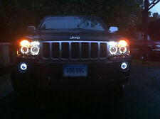 Halo Angel Eye Fog Lamps Driving Lights Kit for 2005-2010 Jeep Grand Cherokee WK