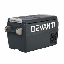Devanti 35L Portable Cooler Box - Black