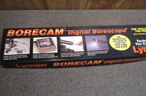Lyman BORECAM Digital Borescope -#04055 w/ Universal 115/220V Adapter SHIPS FREE