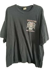 Gildan Harley Rally Panama City Florida USA 2012 Black T Shirt Mens Sz 3XL XXXL