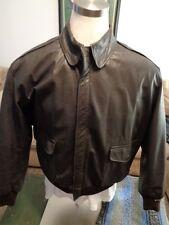 Vintage L.L. Bean A-2 Flying Tiger Leather Jacket 46