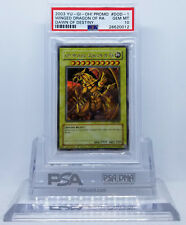 YUGIOH DOD-001 THE WINGED DRAGON OF RA SECRET RARE PSA 10 GEM MINT #*