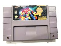 **Tetris 2 SNES Super Nintendo Game - CLEANED TESTED AUTHENTIC!