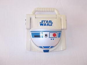 Star Wars Vintage Handheld Electronic Game R2D2 C3PO Talking Educational Game