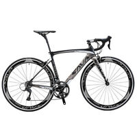 SAVA 700C Road Bike 3K Carbon Fiber Cycling Complete Bicycle Shimano 18 Speed