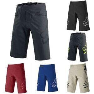 Men's Fox Racing Demo Shorts MTB DH Mountain Bike Swimming Beach Shorts Summer