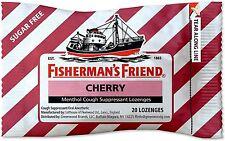 Fisherman's Friend Sugar Free Cough Suppressant Lozenges, Cherry 20 ea