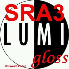 200 gsm SRA3 LUMI GLOSS 2 SIDED PRINTER PAPER x 250s - LASER - DIGITAL - LITHO