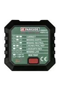 New Parkside UK Socket Tester PSSFS 3 A1 Quick Dispatch Free Postage