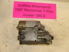 1997 RANSOMES T-PLEX 185D mower KUBOTA D722-e diesel oem electric starter motor