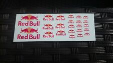Waterslide Decals Nasschiebebilder 1:12 1:18 1:24 1:43 1:48  Red bull
