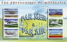Guinea 2002 MNH By Air Discoveries Millennium 6v M/S Aviation Boeing Stamps